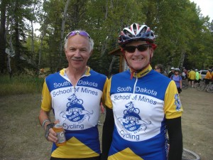 Dan Bjerke and I at Dumont 2012