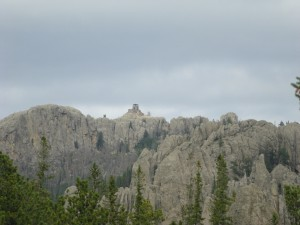 Harney Peak Lookout from trail 9 South